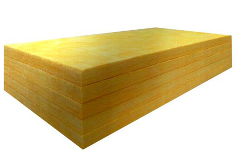 Plain glass wool board insulation