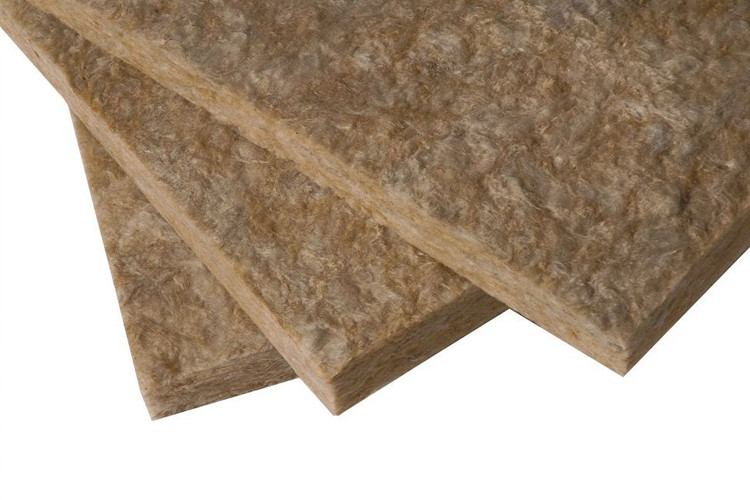 Earth chocolate color glass wool board