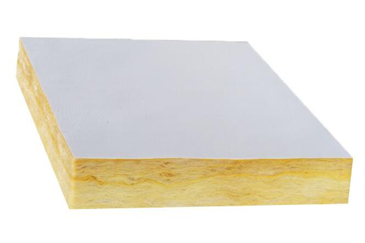 Fiber glas wool board with pvc poly for ceiling