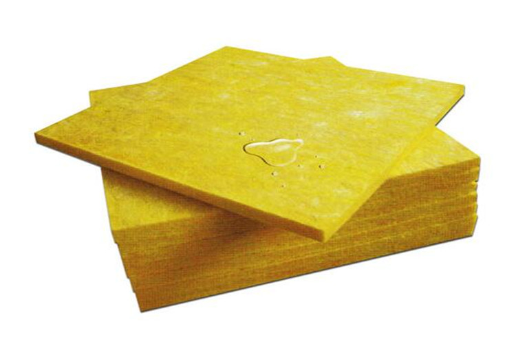Waterproof glass wool board insulation