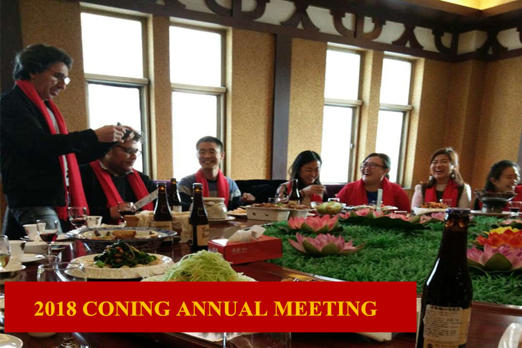 CONING Annual Meeting in 2018 new year
